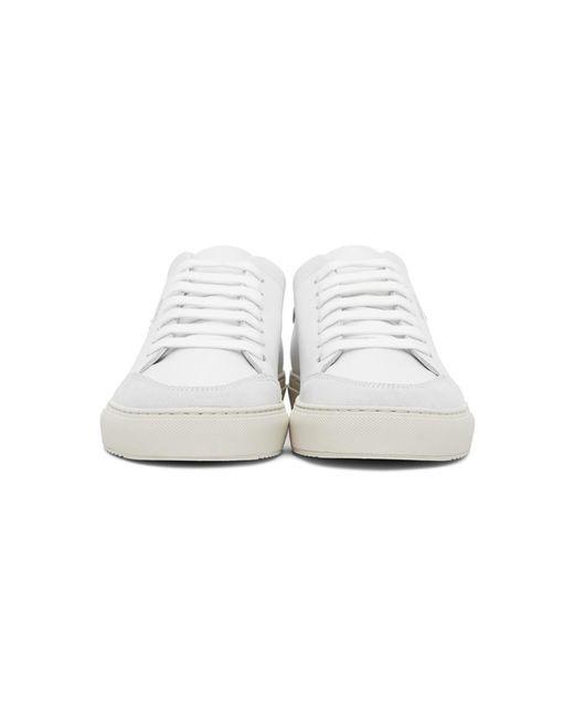 メンズ Axel Arigato Ssense 限定 ホワイト And ピンク Birds Clean 90 スニーカー White