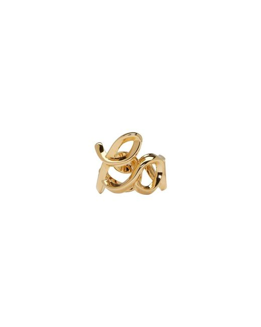 Chloé - Metallic Gold Love Ring - Lyst