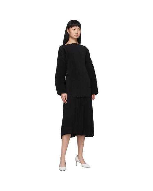 Totême  ブラック Montagu スカート Black