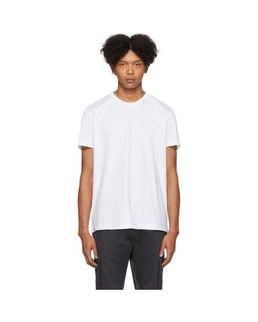 メンズ DIESEL ホワイト T-grossi T シャツ White