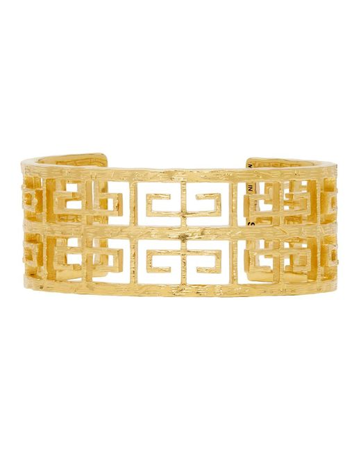 Givenchy - Metallic Gold 4g Small Cuff Bracelet - Lyst
