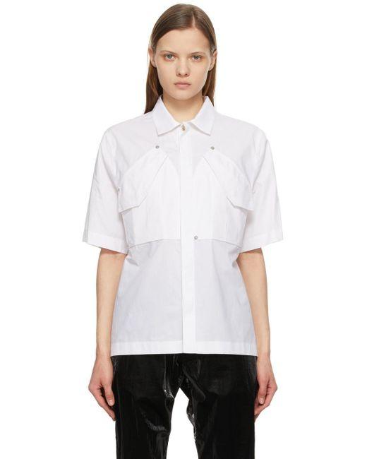 1017 ALYX 9SM ホワイト ショート スリーブ シャツ White