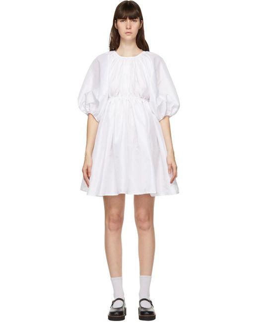 CECILIE BAHNSEN ホワイト Ava ドレス White
