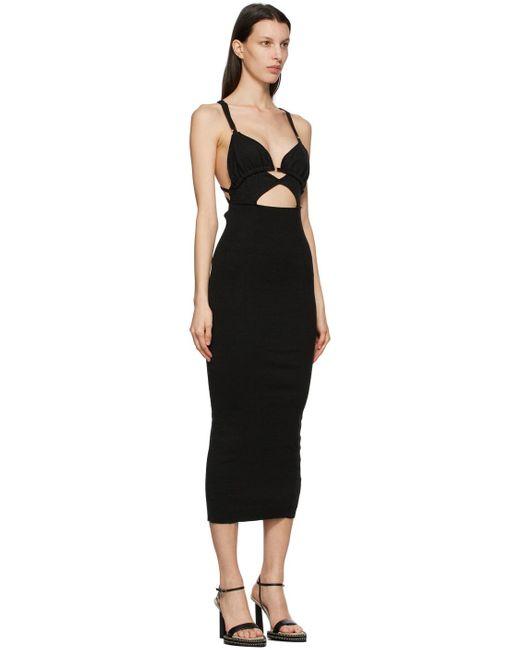 Jacquemus ブラック La Robe Pila ドレス Black
