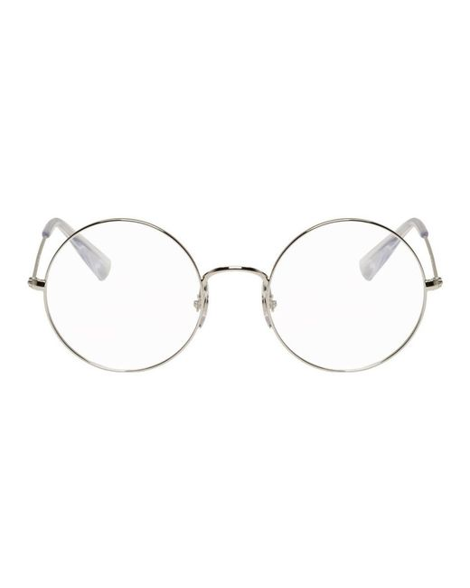 Ray-Ban - Metallic Silver Ja-jo Round Glasses for Men - Lyst