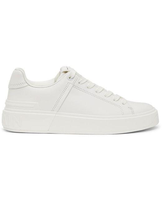 Balmain ホワイト B-court スニーカー White