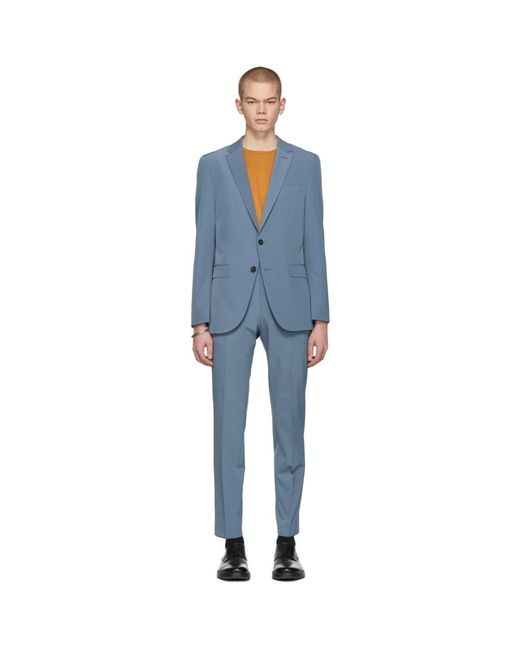 BOSS - Blue Slim Noval And Ben Suit for Men - Lyst