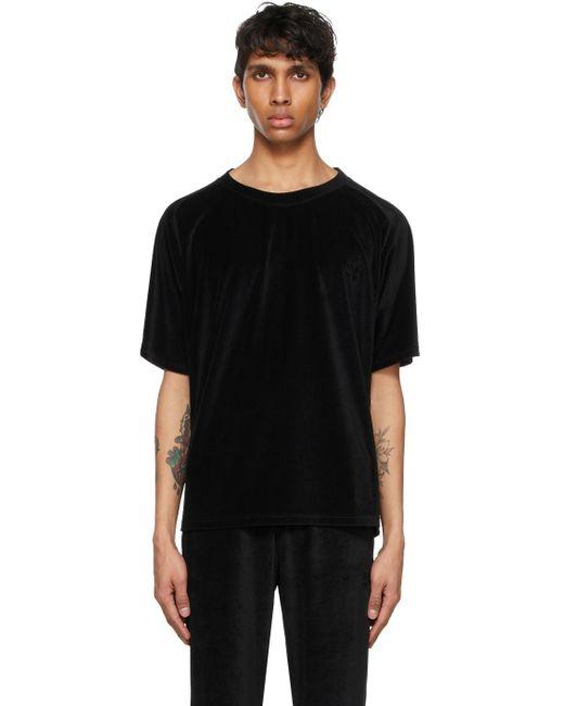 メンズ Needles ブラック Neck T シャツ Black