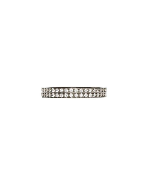 Repossi - Metallic Black Gold Pave Diamond Berbere Ring - Lyst