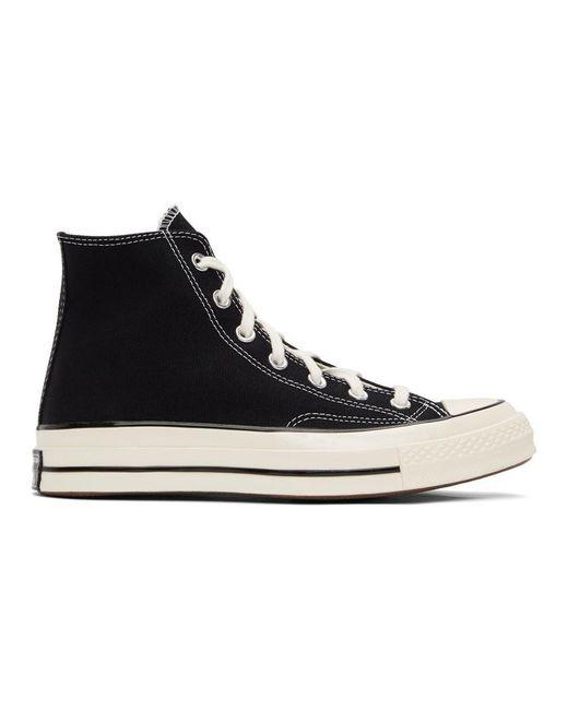 Converse ブラック Chuck 70 ハイ スニーカー ウィメンズ Black