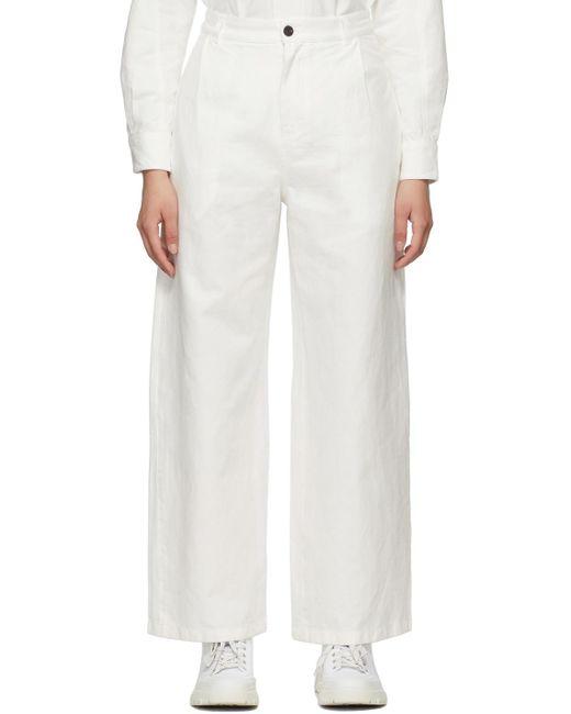 McQ Alexander McQueen Off-white Chino Jeans