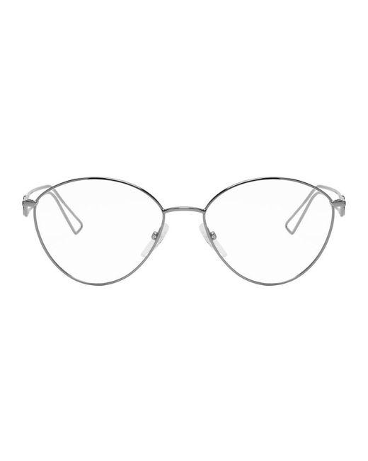メンズ Balenciaga ガンメタル メタル メガネ Multicolor