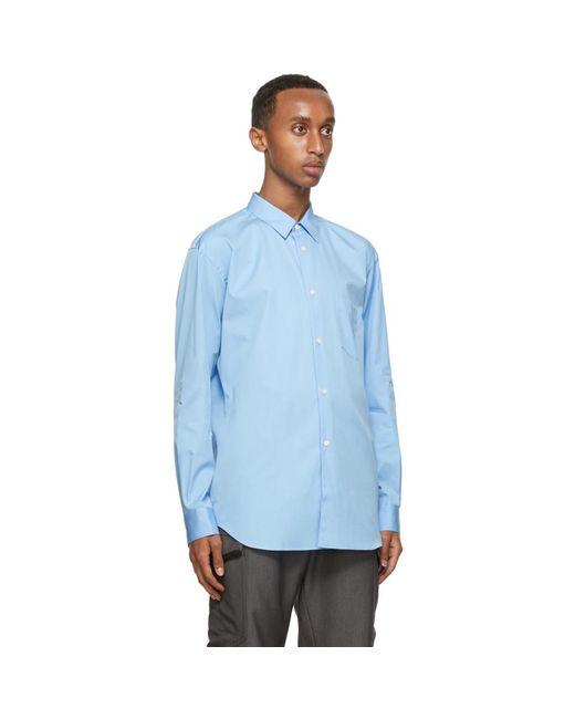 メンズ Comme des Garçons ブルー クラシック Forever シャツ Blue