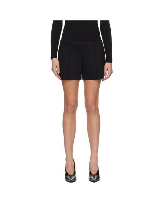 Wolford Black Artemis Shorts