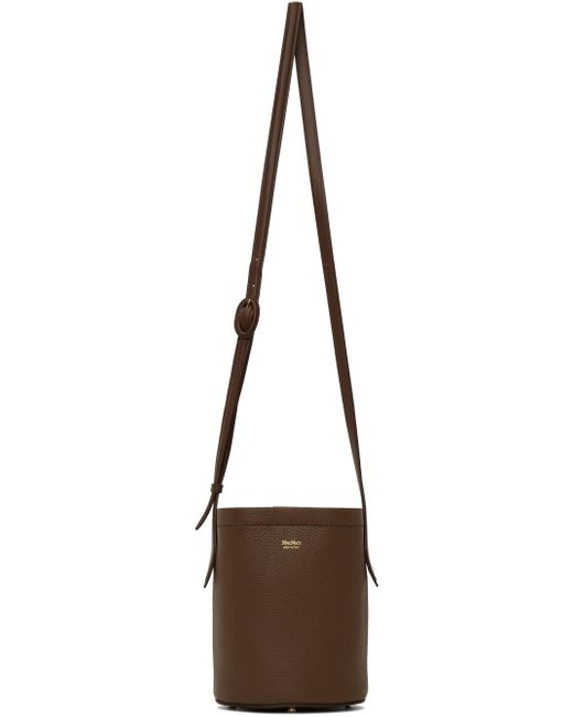 Max Mara ブラウン Dearb バケット バッグ Brown