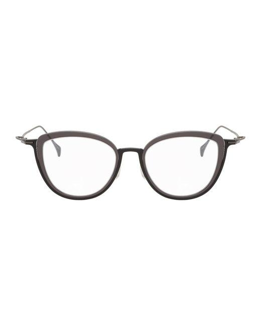 メンズ Yohji Yamamoto ブラック Yy1041 メガネ Black