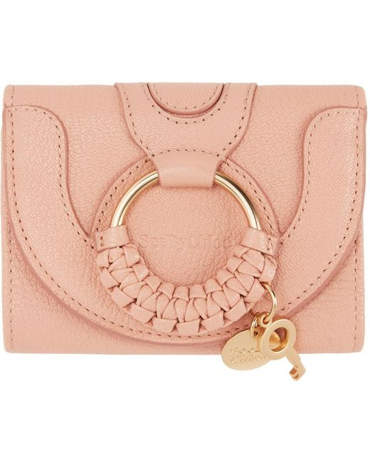 See By Chloé ピンク Hana コンパクト ウォレット Pink