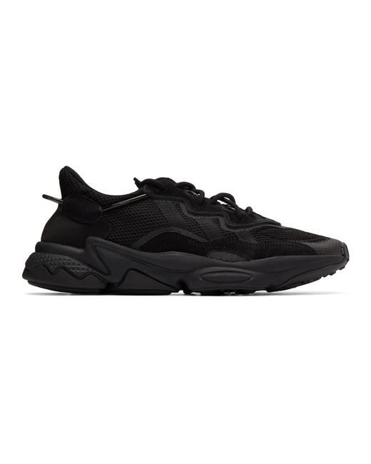 メンズ Adidas Originals ブラック Ozweego スニーカー Black