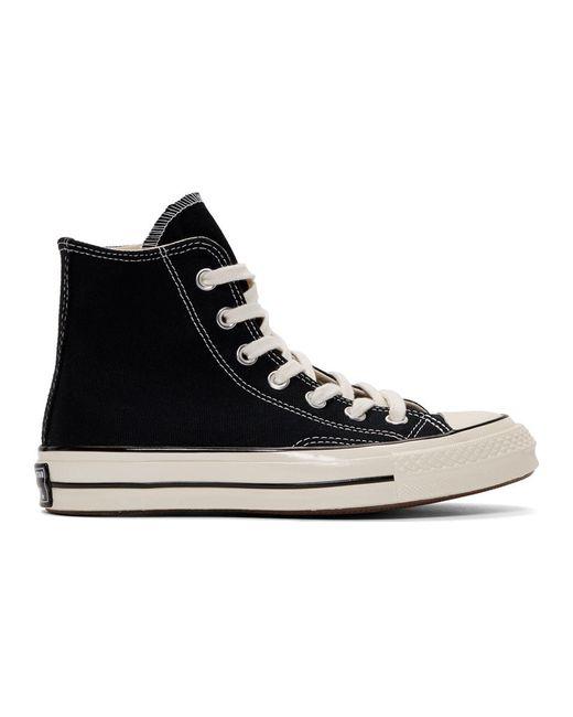 Converse ブラック Chuck 70 ハイ スニーカー Black