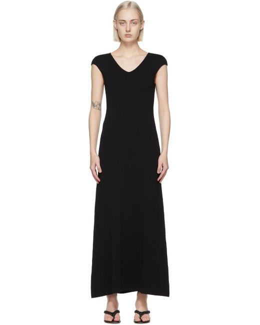 Totême  ブラック Cap Sleeve ドレス Black