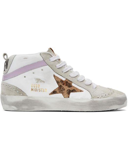 Golden Goose Deluxe Brand Ssense 限定 ホワイト & グレー ミッド Star スニーカー White
