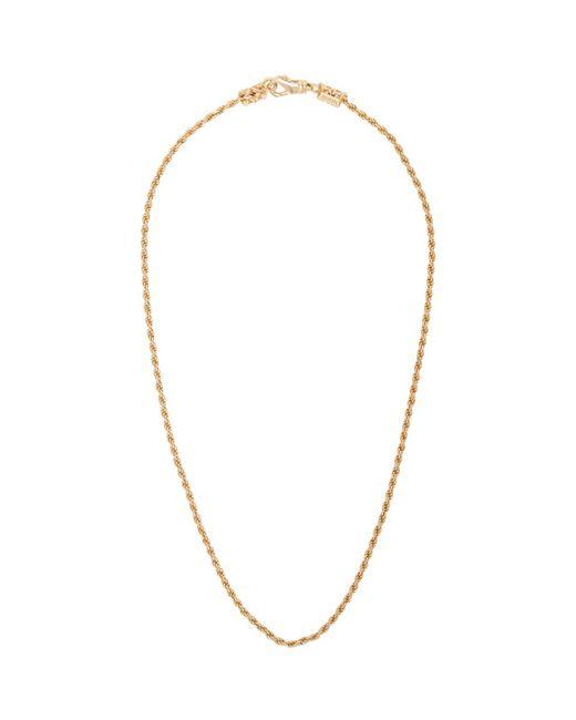 Emanuele Bicocchi - Metallic Ssense Exclusive Gold Birdcage Necklace for Men - Lyst