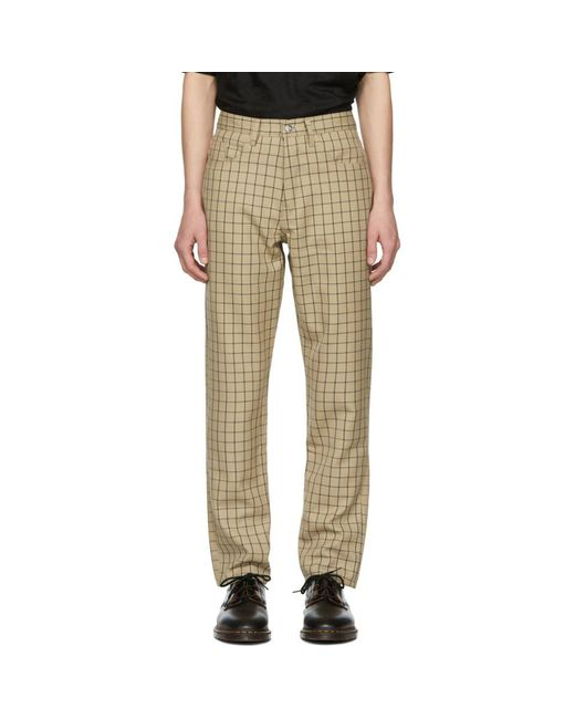 Enfants Riches Deprimes - Natural カーキ And ネイビー 5 ポケット トラウザーズ for Men - Lyst