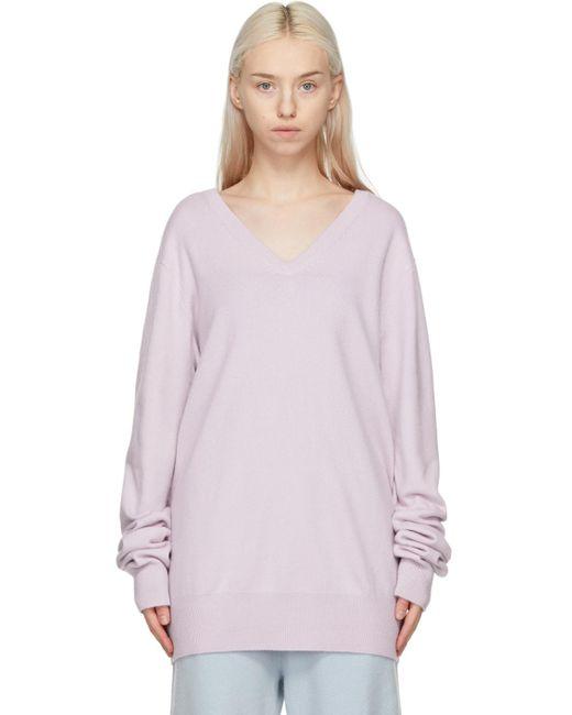 Extreme Cashmere パープル N°162 Claim セーター Purple