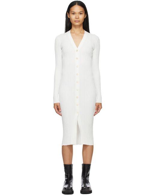 Dion Lee ホワイト Float ドレス White