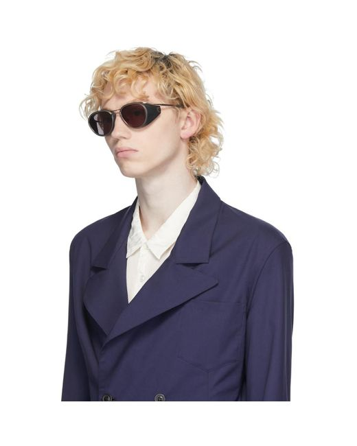 Dita Eyewear Men's Gunmetal And Black Nacht-two Sunglasses