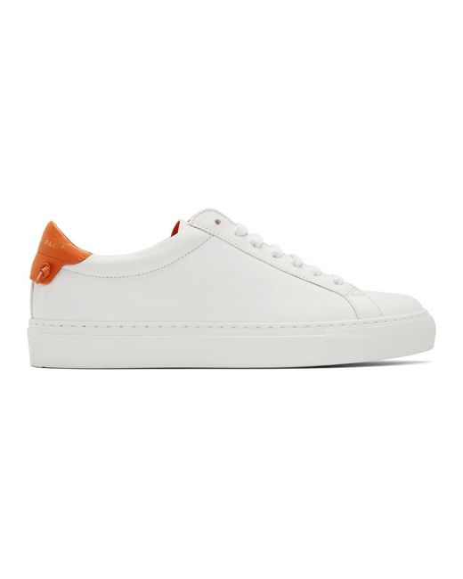 Givenchy ホワイト アーバン ストリート スニーカー White