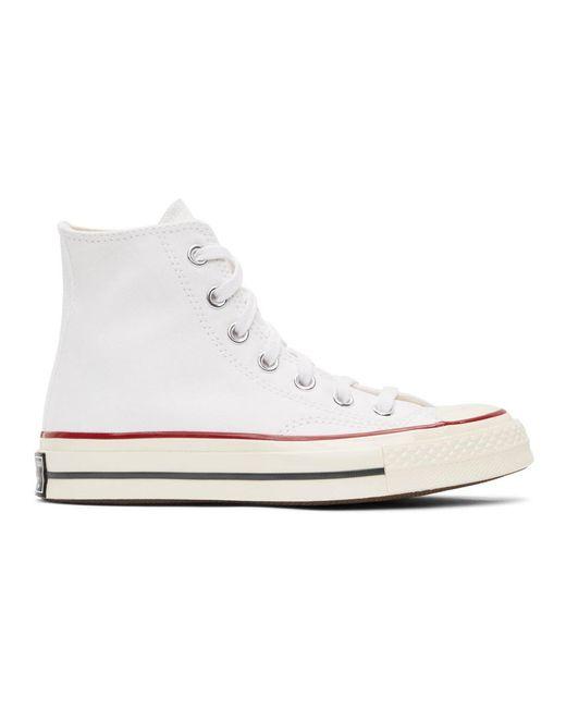 Converse ホワイト Chuck 70 ハイ スニーカー ウィメンズ White