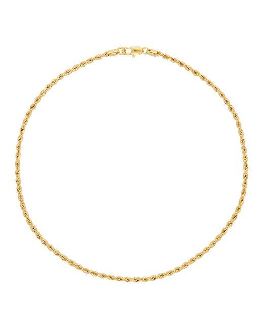 Laura Lombardi ゴールド ロープ チェーン ネックレス Metallic