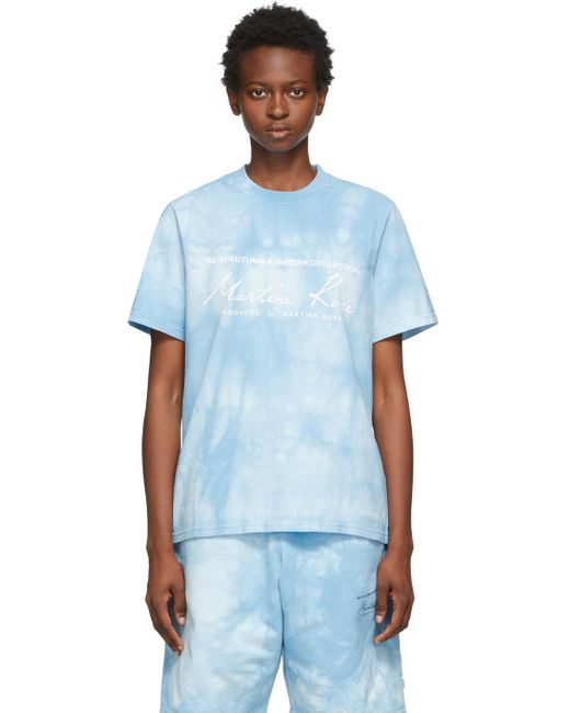 Martine Rose ブルー Classic T シャツ Blue