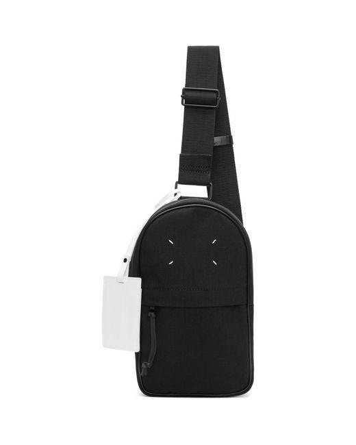 メンズ Maison Margiela ブラック マイクロ クロスボディ バックパック Black