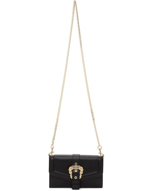 Versace Jeans ブラック Couture 1 チェーン バッグ Black