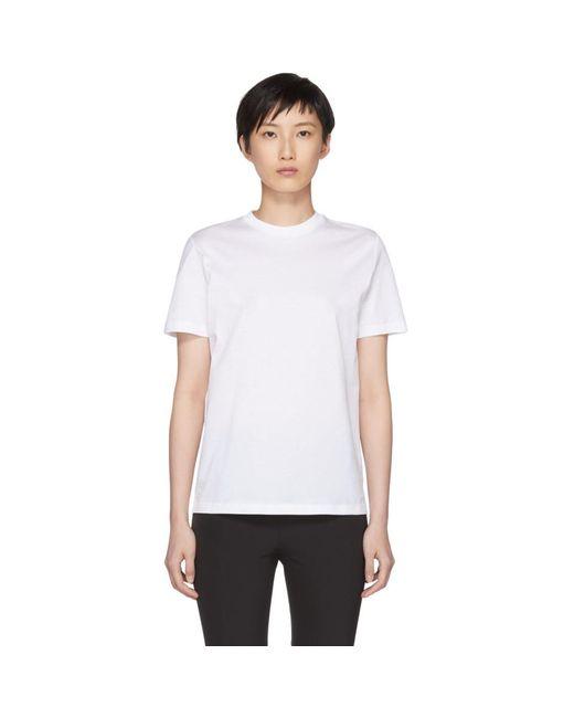 Prada - White Classic T-shirt - Lyst