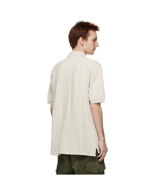 メンズ Isabel Marant オフホワイト Anafiko ポロシャツ White