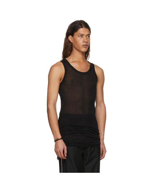 Black Shiloh Tank Top Ann Demeulemeester Best Prices For Sale Cheap Pay With Paypal Fast Express Reliable wnU7y3VE6