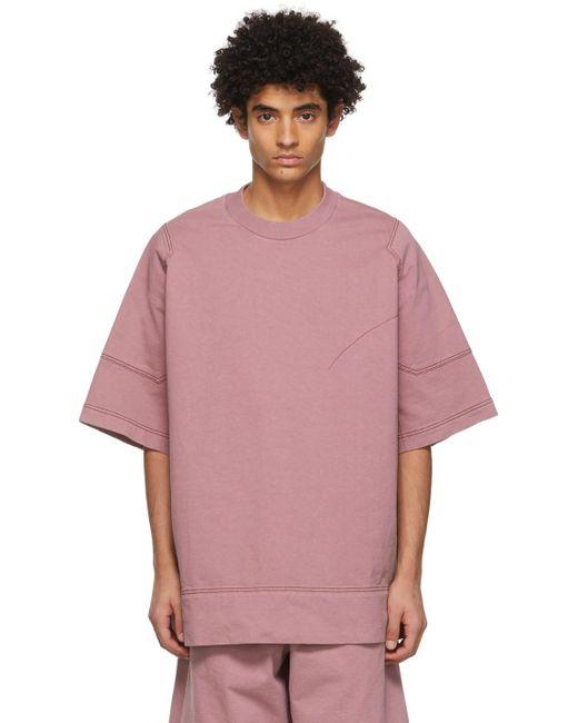 メンズ Jil Sander ピンク T シャツ Pink