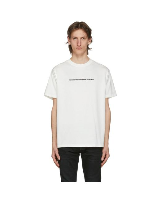 メンズ 424 ホワイト But Not Mine T シャツ White