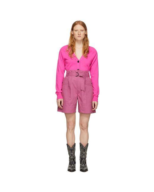 Étoile Isabel Marant ピンク Zayna ショーツ Pink
