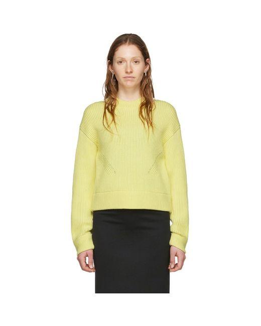 Proenza Schouler イエロー White Label チャンキー リブ セーター Yellow