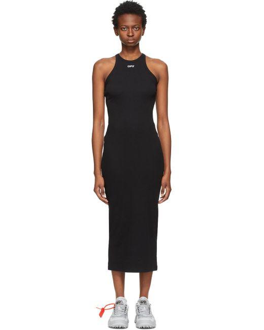 Off-White c/o Virgil Abloh ブラック ドレス Black