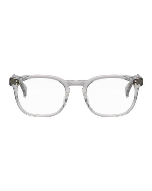 Raen - Gray Grey Transparent Eagan Glasses for Men - Lyst