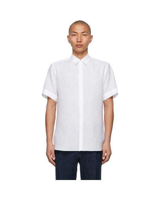 メンズ Dolce & Gabbana ホワイト Dg ロゴ ショートスリーブ シャツ White