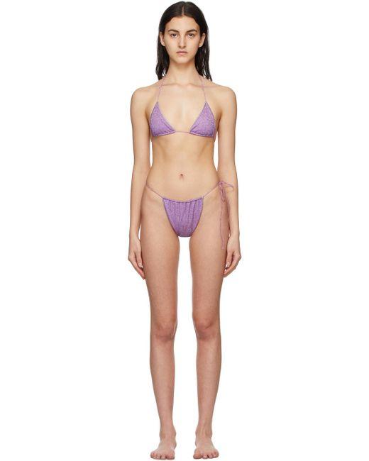 Oseree パープル Lumière Microkini ビキニ Purple