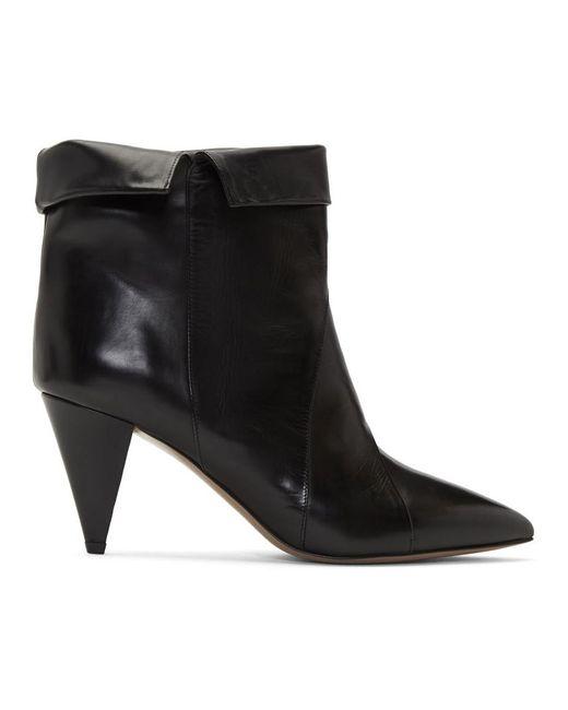 Isabel Marant ブラック Larel ブーツ Black