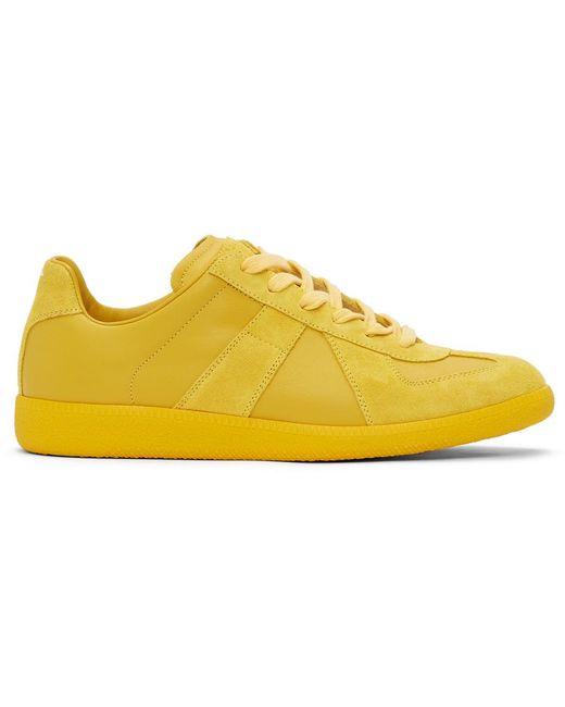 メンズ Maison Margiela イエロー Replica スニーカー Yellow