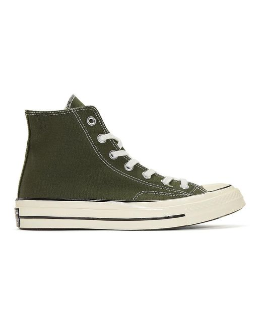 Converse - Green Chuck Taylor Canvas Vintage High-top Sneakers for Men -  Lyst ...